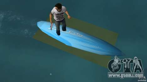 Surfboard 3 for GTA Vice City right view