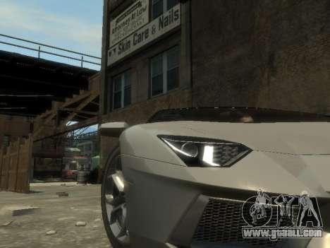 Lamborghini Aventador LP700-4 EPM for GTA 4 side view