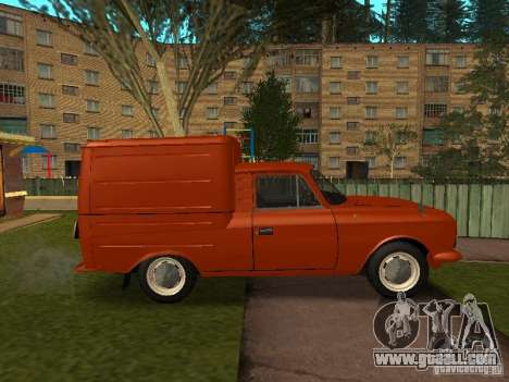 Izh 2715 for GTA San Andreas left view