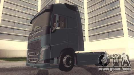 Volvo FH 2013 for GTA San Andreas inner view