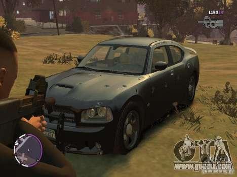 Dodge Charger SRT8 2007 FBI for GTA 4