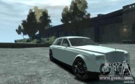 Rolls-Royce Phantom for GTA 4 inner view