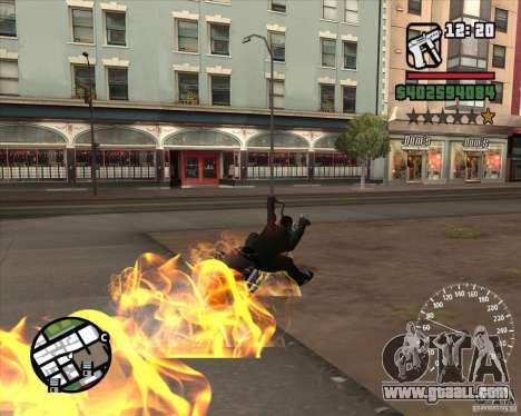 Ghost Rider for GTA San Andreas fifth screenshot
