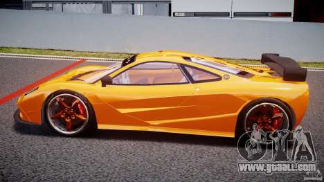Mc Laren F1 LM v1.0 for GTA 4 left view