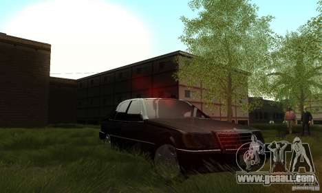 Mercedes-Benz 400 SE w140 Deputat Style for GTA San Andreas side view