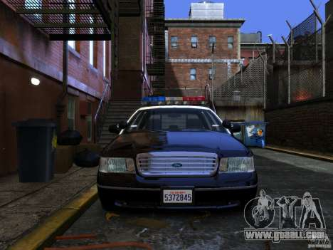 Ford Crown Victoria LAPD v1.1 [ELS] for GTA 4