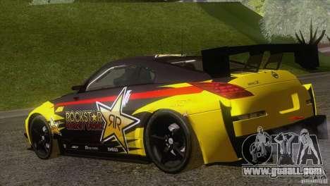 Nissan 350Z Rockstar for GTA San Andreas left view