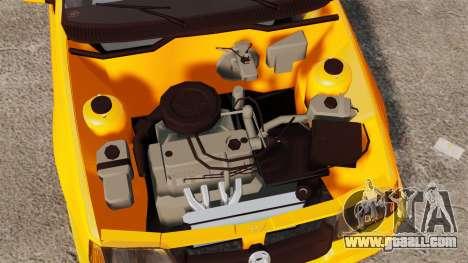 Opel Kadett GL 1.8 1996 for GTA 4 back view