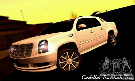 Cadillac Escalade Ext for GTA San Andreas