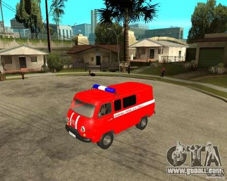 UAZ Fire Brigade for GTA San Andreas left view