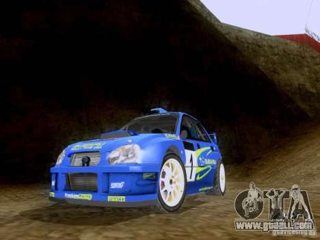 Subaru Impreza WRC 2003 for GTA San Andreas