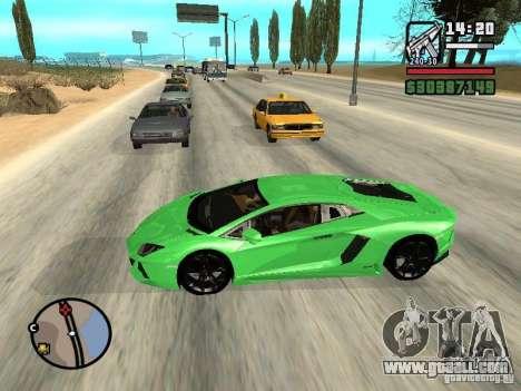 Automobile Traffic Fix v0.1 for GTA San Andreas second screenshot