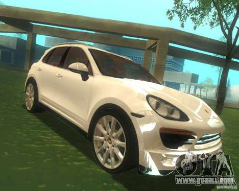 Porsche Cayenne 958 2010 V1.0 for GTA San Andreas back view