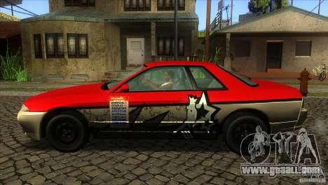 Nissan Skyline R32 for GTA San Andreas