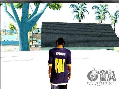 Snoop DoG the F.B.I. for GTA San Andreas third screenshot