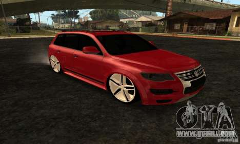 Volkswagen Touareg Dag Style for GTA San Andreas