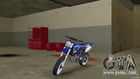 Yamaha YZ450F for GTA Vice City