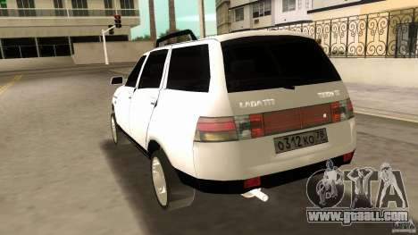 VAZ 2111 for GTA Vice City upper view