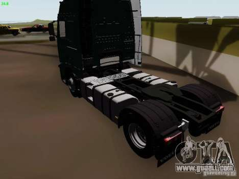 Volvo FH13 Globetrotter for GTA San Andreas right view