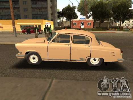 GAZ 21 Volga Taxi for GTA San Andreas left view