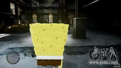 Spongebob for GTA 4 second screenshot
