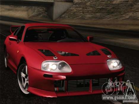 Toyota Supra TRD3000GT v2 for GTA San Andreas