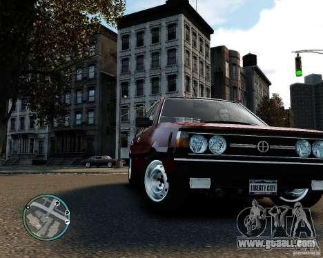 FSO Polonez 1500 Borewicz for GTA 4 left view