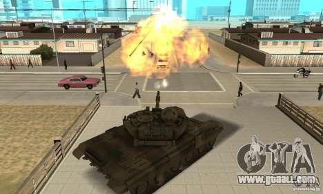 Tank t-90 for GTA San Andreas