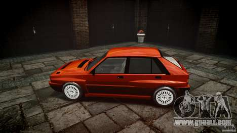 Lancia Delta HF 4WD for GTA 4 inner view