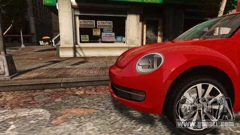 Volkswagen Beetle Turbo 2012 for GTA 4 left view