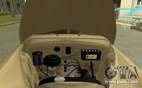 GAZ M20 Pobeda 1949 for GTA San Andreas back view