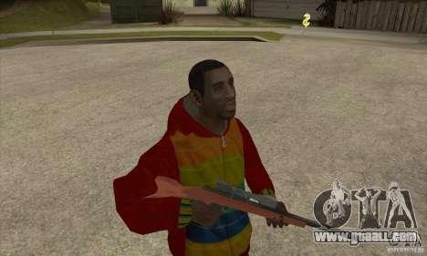 Rider-Playboy X for GTA San Andreas second screenshot