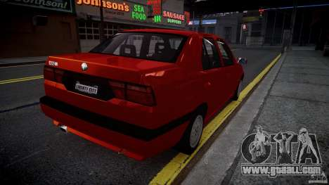 Alfa Romeo 155 Q4 1992 for GTA 4 back left view