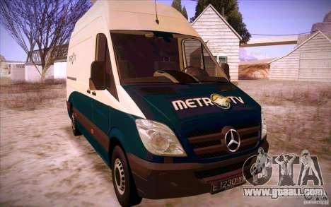 Mercedes Benz Sprinter 311 CDi for GTA San Andreas