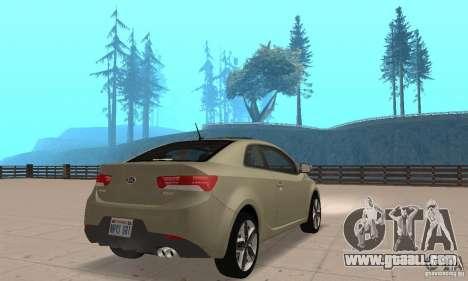 Kia Forte Koup 2010 for GTA San Andreas left view