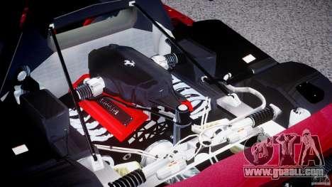 Ferrari Enzo for GTA 4 inner view