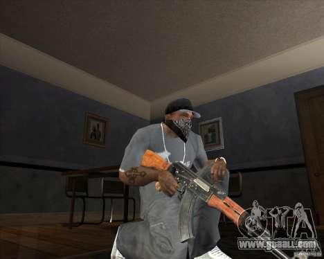 Jarra Mono Arsenal v1.2 for GTA San Andreas fifth screenshot