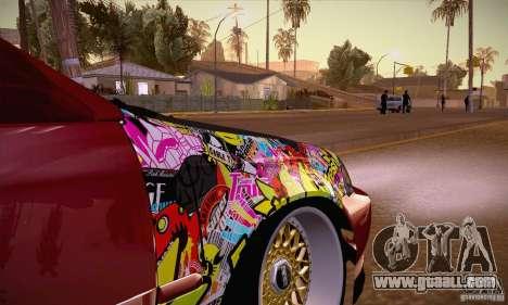 Honda Civic Tuning 2012 for GTA San Andreas inner view