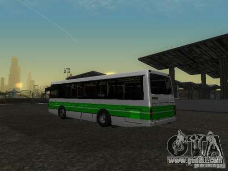 LAZ 42021 CWR for GTA San Andreas inner view