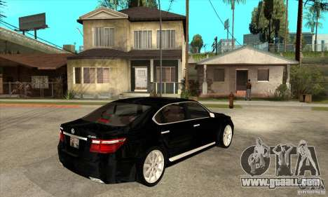 Lexus LS460L 2010 for GTA San Andreas right view