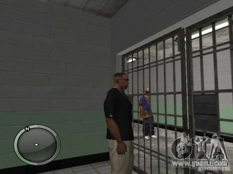 The arrest of violator-3 for GTA San Andreas third screenshot