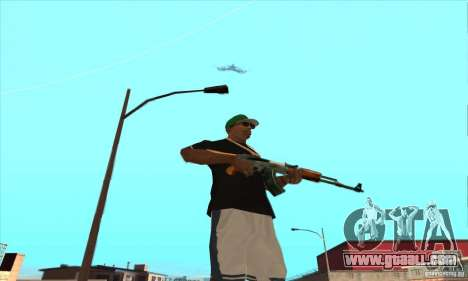 WEAPON BY SWORD for GTA San Andreas tenth screenshot