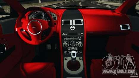Aston Martin DBS Volante [Final] for GTA 4 back view