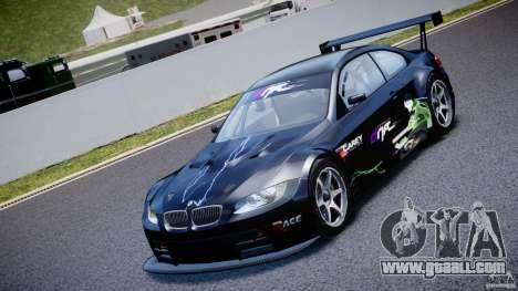 BMW M3 GT2 Drift Style for GTA 4 inner view