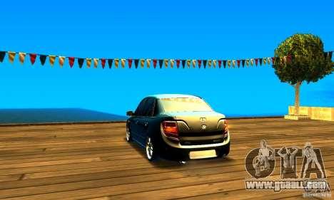 Lada Granta v2.0 for GTA San Andreas back left view
