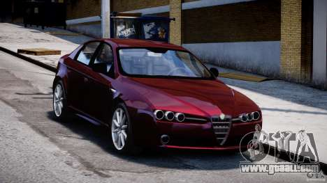 Alfa Romeo 159 Li for GTA 4