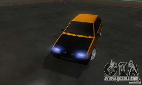 VAZ 2109 Light Tuning for GTA San Andreas inner view