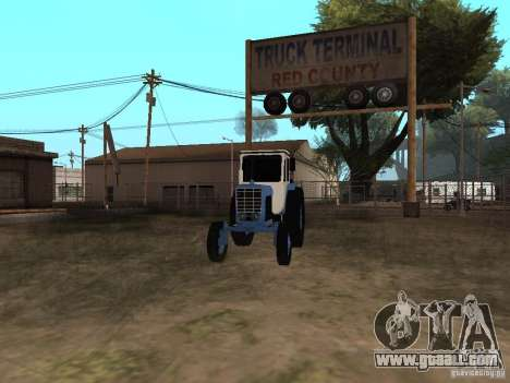 MTZ 52 for GTA San Andreas right view