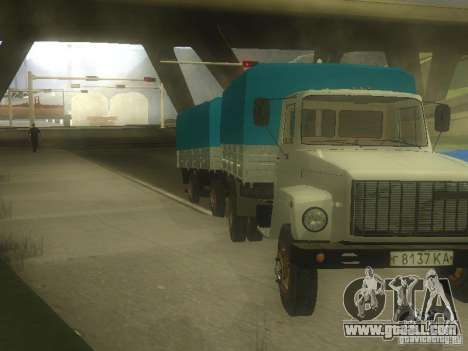 GAZ 3307 for GTA San Andreas left view