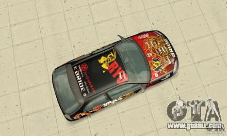 Honda-Superpromotion for GTA San Andreas right view